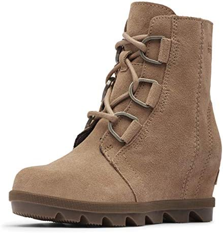 Sorel Youth Girls Youth Joan of Artic Wedge II Ash Brown Black Size 5 product image