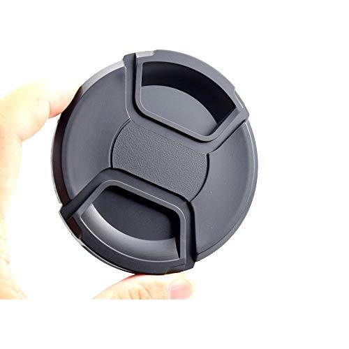 82mm Objektivdeckel,Snap-On Objektivdeckel,Zentrum Pinch Objektivdeckel,Kamera-Schutzdeckel aus 100prozent recyceltem Kunststoff.ompatibel mit Allen Kamera Herstellern 82mm Linse.