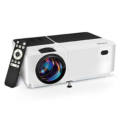 Wsky Video Portable Projector Outdoor Home Theater, LED LCD HD 1080p...