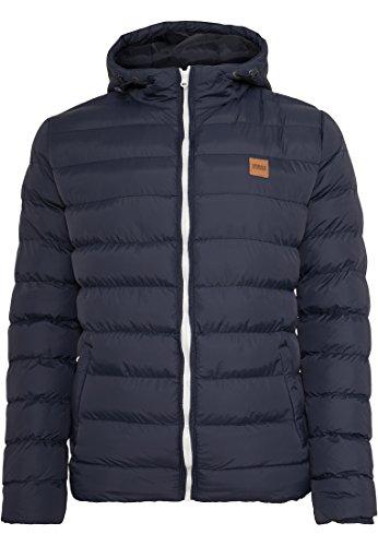 Urban Classics Herren Basic Bubble Jacket Giacca, Nvy/Wht/Nvy, XXXXL Uomo