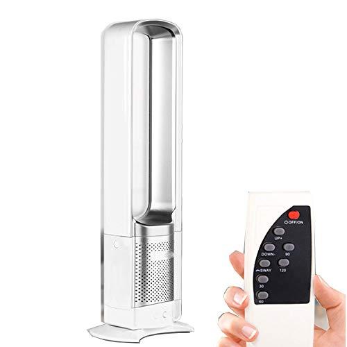LIJING Tower Ventilator Koelers, Bladloze Stille Ventilator Koelers Slimme Afstandsbediening Air Circulator Conditioner Ventilator Gebruikt In Home Office om lucht te zuiveren
