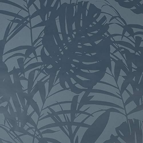 Superfresco Easy Tropical Palm Blauw Behang