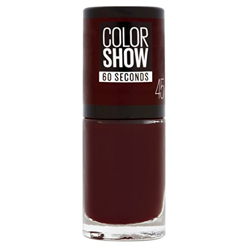 Maybelline New York Color Show - Esmalte de uñas, secado rápido