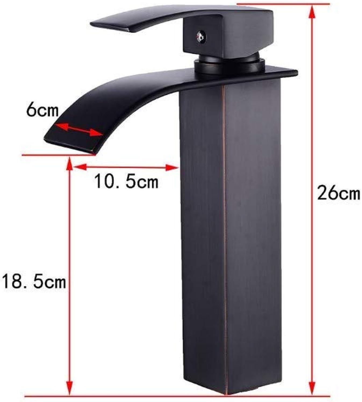 Wasserhahn Einhand Wasserhhne Küche Becken Wasserhahn Bad Heien Und Kalten Wasserfall Wasserhahn Bad Kupfer Wasserhahn
