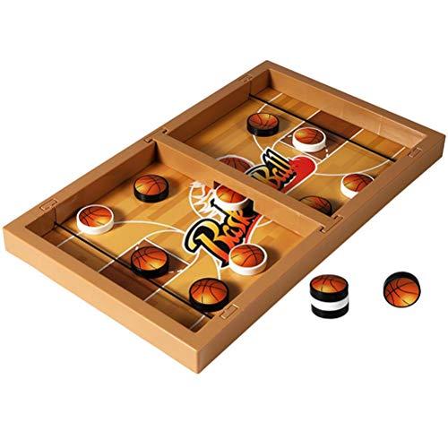 Atrumly Juego de cabestrillo de mesa, juego de mesa de batalla de deporte, juego de mesa de fútbol, baloncesto, ajedrez, padres-hijo, juguete interactivo para la fiesta familiar de padres e hijos