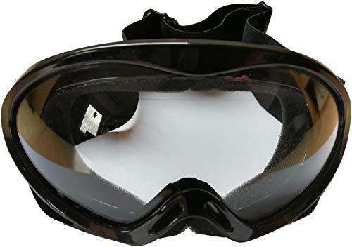 Protectwear Lunettes, noir brillant, pour Enduro et motocross casques, Taille de l'unité pour enfants