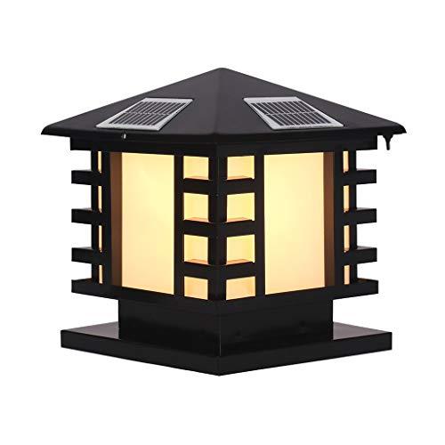 TXTC Led-zonne-lantaarn Illumina wandlamp buitenlamp hanging waterdicht wandlamp schemering sensor voor huis portico tuin patio yard dek