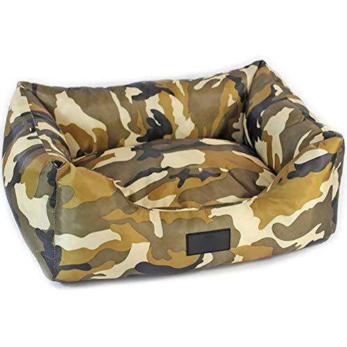 YXZQ-Hundebetten, hochwertiges therapeutisch unterstützendes Bett, lindert Arthritis bei Haustieren, maschinenwaschbare Abdeckung, atmungsaktive Baumwollmischung, abnehmbar und leicht zu reinigen