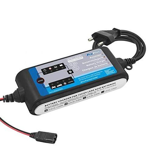 ProPlus Cargador de 6 V/12 V, 2-4 A, 9 niveles de carga LiFePO4.
