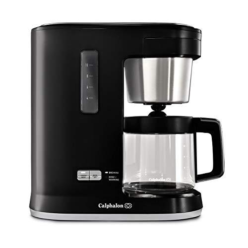 Calphalon Precision Control 10 Cup Coffee Maker, Matte Black