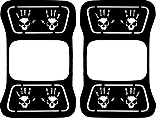 JeepTails Wave Skull Tail lamp Light Covers Compatible with Jeep Gladiator