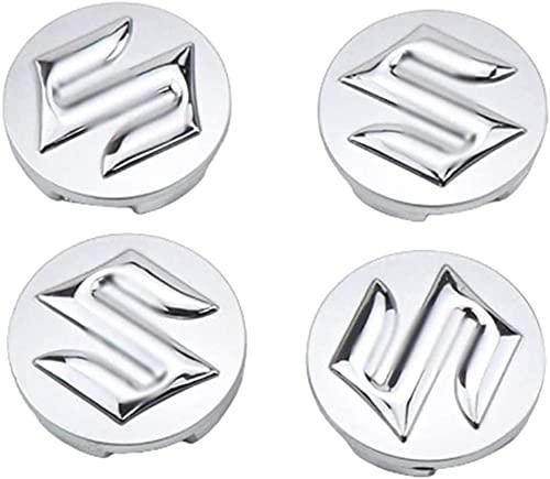Tapacubos de 4 Piezas 54mm para Suzuki Tianyu sx4 Alto, La Tapas Centrales de Rueda de Alta Calidad Protegen el Buje de La Suciedad Accesorios de auto