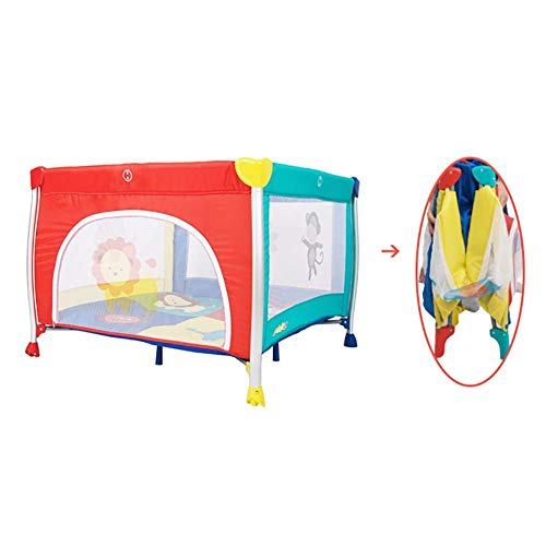 Z-SEAT Bebé Plegable De Parque Infantil, Un Corralito Portátil, Viajes Plaza Multicolor...