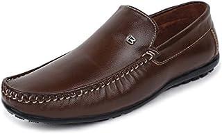 BUWCH Black Loafer & Moccasin Shoe for Men