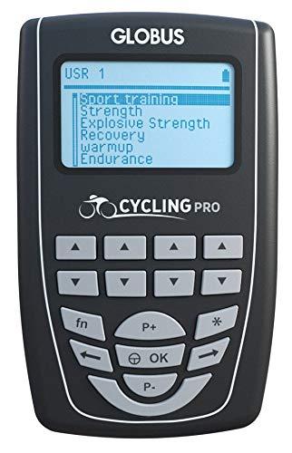 Globus G4230, Elettrostimolatore Cycling PRO Unisex Adulto, Nero, Unica