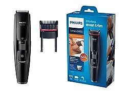 Philips BT5200 Beardtrimmer, schwarz