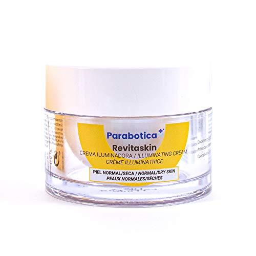 Parabotica REVITASKIN Pflegecreme 50ml, revitalisierende Feuchtigkeitscreme gegen müde Haut und für einen frischen Teint
