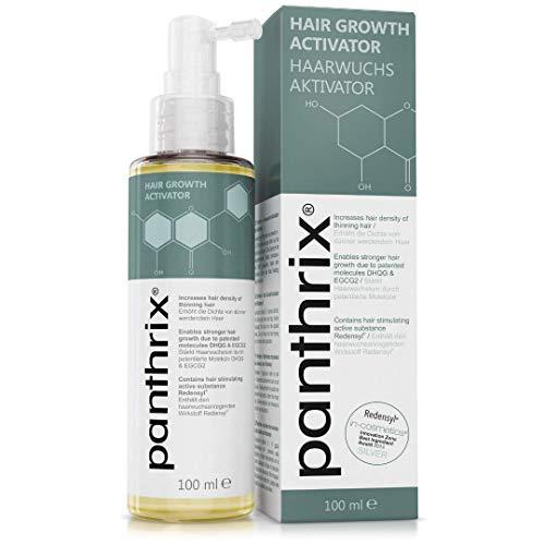 Panthrix - Activador del Crecimiento del Cabello - PRINCIPO ACTIVO PREMIADO - MADE IN GERMANY - 100ml de Spray ALTA DOSIS - Tónico para el Crecimiento Rápido del Pelo - para Hombres y Mujeres