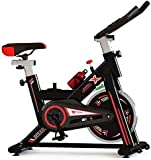 PRO <span class='highlight'>Indoor</span> Studio Cycle <span class='highlight'>Exercise</span> <span class='highlight'>Bike</span> Machine For <span class='highlight'>Cycling</span> Home Cardio Fitness Adjustable <span class='highlight'>Bike</span> - Red/Black *THE WINNER 2021