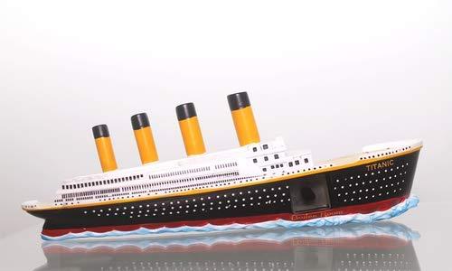 Titanic 3D Ship w/Titanic Coal