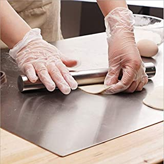 Zhaoruilong1163 Conseil Pad en Acier Inoxydable pâtisserie Cut Cuisson Mat for la pâte pâtisserie Pealing Mat (Size : 60x5...