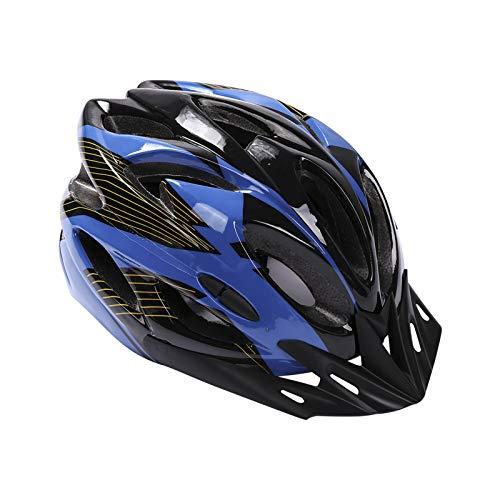 Deyiis - Casco de bicicleta de montaña para adultos, ajustable, con visera extraíble, para bicicleta MTB City Specialized