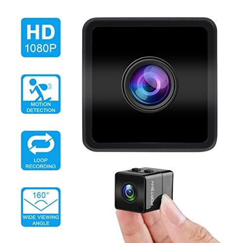 Mini cámara espía Hawkeye Firefly HD 1080P Cámara Oculta espía con DVR FOV160 ° Micrófono Incorporado para el hogar y Deportes al Aire Libre