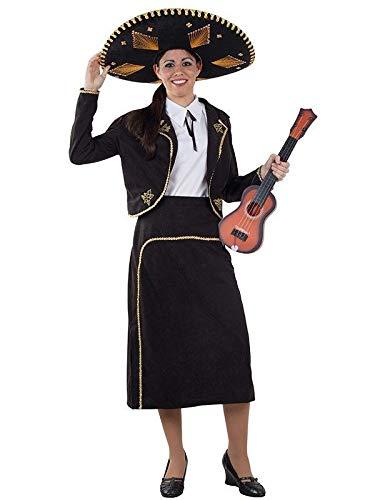 DISBACANAL Disfraz de Mariachi para Mujer - M