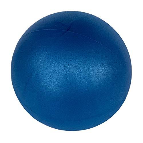 Swissball Palla Fitness Piccola 25 Cm Ginnastica Allenamento Esercizi Palestra Pilates Yoga Crossfit Medica Morbida Rimbalzante Riabilitazione Gonfiabile (Blu)