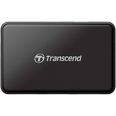 Transcend USB 3.0 4-Port Hub TS-HUB3K, Black