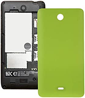 Battery case Jrc Frosted Surface Plastic Back Housing Cover for Microsoft Lumia 430(Black) Mobile phone accessories (Color...