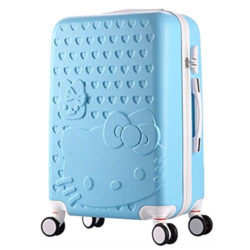 SONGXZ Koffer Cartoon Muster A + B Trolley Gepäck Passwort Student Koffer Caster