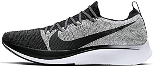 Nike Zoom Fly Flyknit Mens Running Shoe Black/Black-White Size 11