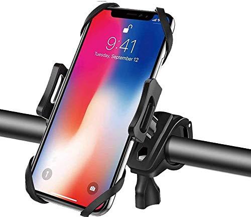 Abnehmbare Handyhalterung Fahrrad, 360° Drehbarer Handyhalter Fahrrad Universal Smartphone Halterung Lenker, Face ID/Touch ID kompatibel, für 4,5-6.5 Zoll Smartphones Android iPhone X/XR/XS MAX/8/7/6
