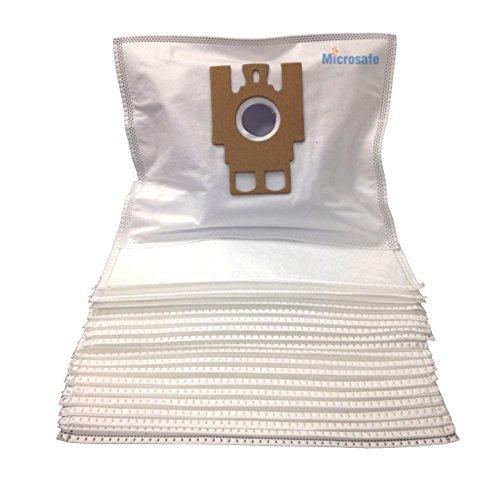 Microsafe® - 20 Microflies Economy Staubsaugerbeutel passend für Miele Classic C1 Serie (z.B. Special EcoLine, EcoLine Plus .)