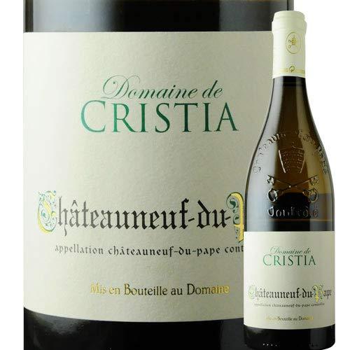 シャトーヌフ・デュ・パプ・ブラン ドメーヌ・ド・クリスティア 2018年 フランス ローヌ 白ワイン 辛口 750ml