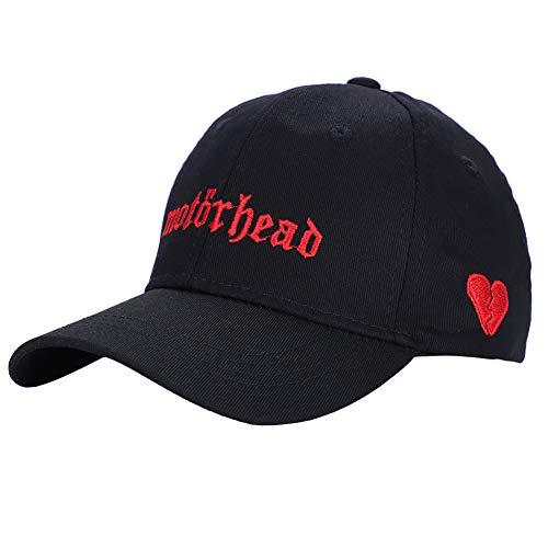 Hombres Mujeres Gorra de béisbol de algodón Liso Sombrero Ajustable