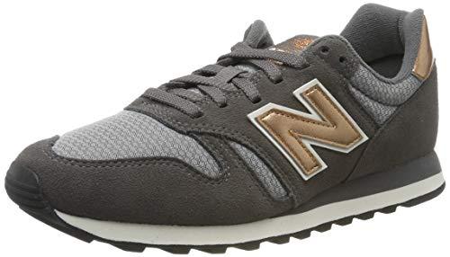 New Balance Damen 373 Sneaker, Grau (Grey Grey), 40.5 EU