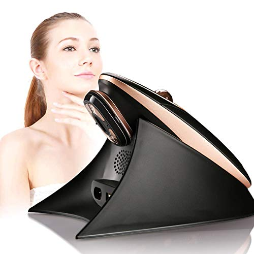 Facial Massager HIFU Anti-Aging Anti-Wrinkle Skin Care Machine RF Ultrasound Skin Tightening Machine for Salon Home Use,Black