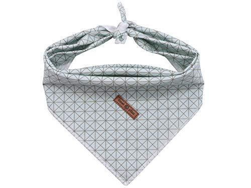 lionet paws Bandana für Hund Kopftücher Hundehalstuch Dreieckstuch für Kleine, Mittelgroße und...