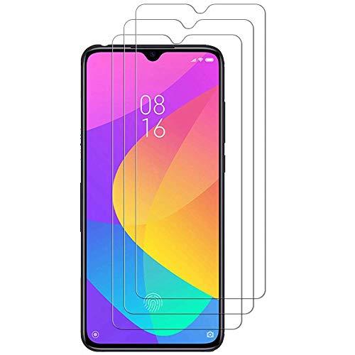 iGlobalmarket (Pack 3 Unids) Protector Pantalla para Xiaomi Redmi Note 8 Pro, Vidrio Cristal Templado, dureza 9H, sin Burbujas, antiarañazos, Resistente a Arañazos