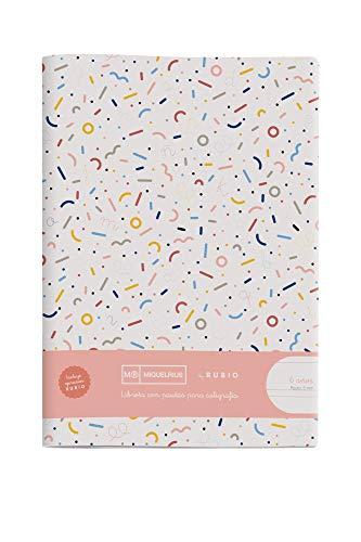 Miquelrius cuaderno con grapa By Rubio A4 Pauta Montesori 5 mm 50 hojas