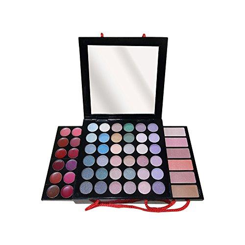 Gloss! CP8278 - Paleta de maquillaje, 54 piezas, color negro