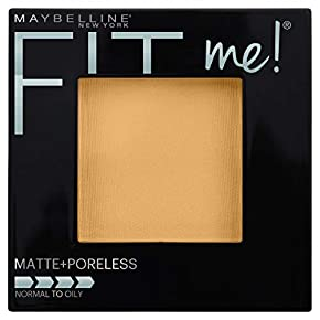 Maybelline New York Fit Me! Matte + Poreless Foundation Powder, Sun Beige [310] 0.29 oz