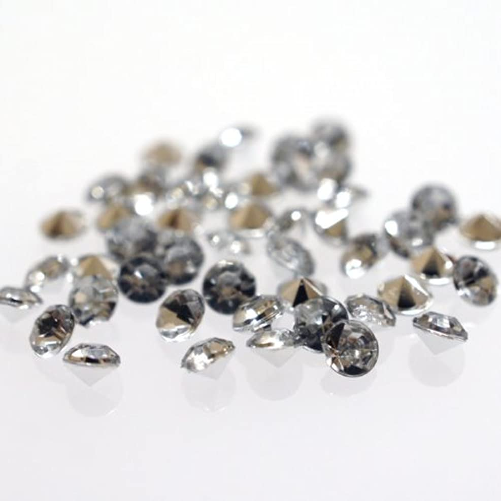 溶かすリーズ容量ダイヤモンドカットラインストーン3mm Vカット クリア ネイルパーツ