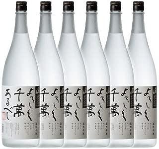 【米焼酎】新潟県 八海醸造 八海山 米焼酎 宜有千萬 (よろしくせんまんあるべし) 1800ml×6本 セット