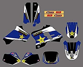 KIMME New Star TEAM GRAPHICS & BACKGROUNDS DECALS STICKERS Kits Fit for Yamaha YZ80 YZ 80 1993 1994 1995 1996 1997 1998 1999 2000 2001