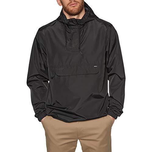 RVCA Killer Anorak Waterproof Jacket Small Rvca Black