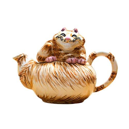 Alicia en el país de las maravillas pequeña tetera de gato de Cheshire