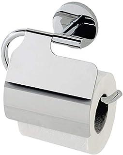 FERIDRAS Toilet Roll Holder, Chrome, 6.5x15x20.5 cm
